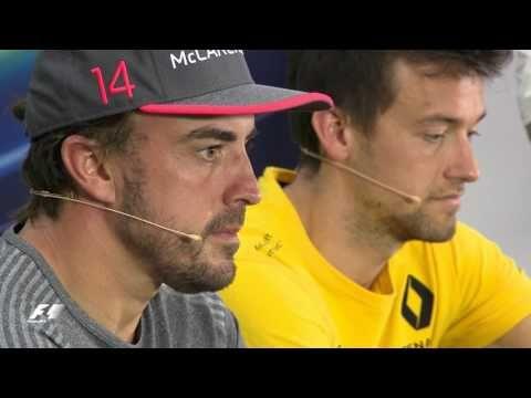 Bahreini GP 2017 - neljapäevane sõitjate pressikonverents