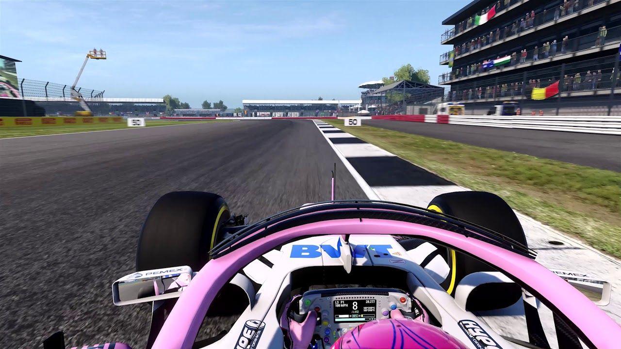Suurbritannia GP 2018 - eelvaade, virtuaalring, Force India