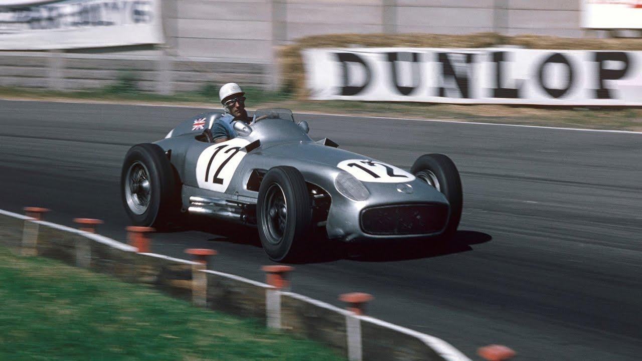 Mercedes mälestab Sir Stirling Mossi