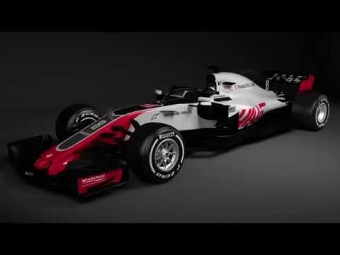 Hooaeg 2018 - Haas F1 Team VF-18 esitlus