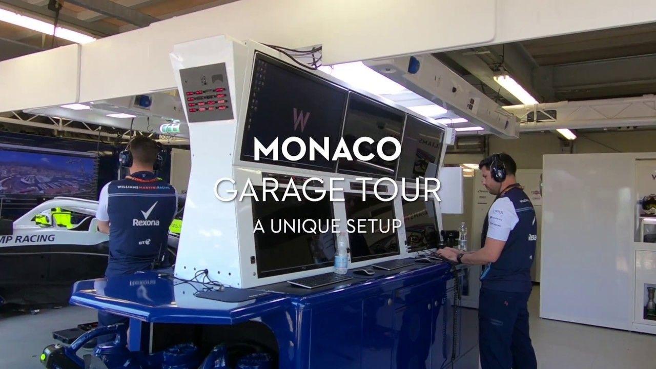 Monaco GP 2018 - telgitagused, garaažituur, Willians