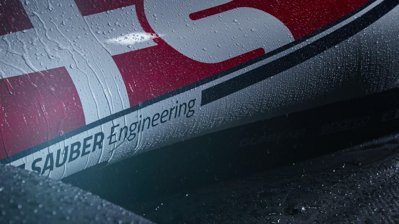 Hooaeg 2019 - Alfa Romeo Racing C38 esitlus