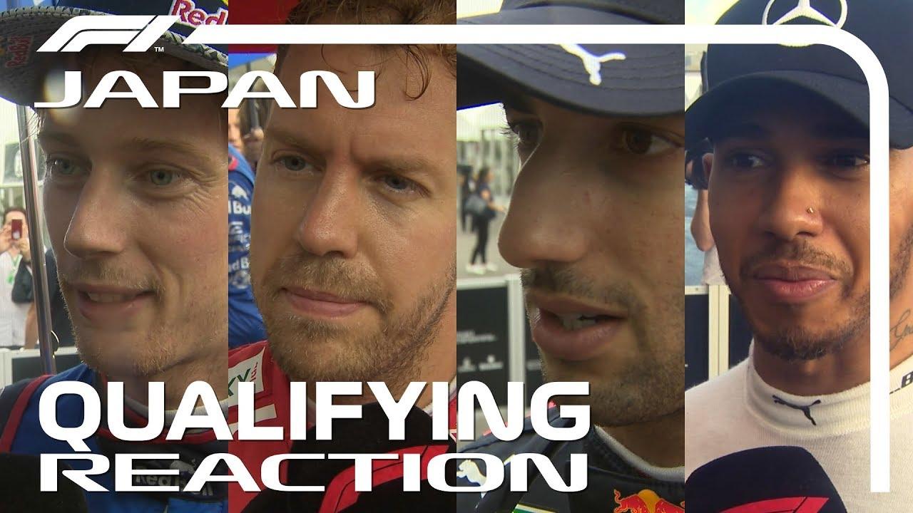 Jaapani GP 2018 - kvalifikatsioon, sõitjate kommentaarid, F1