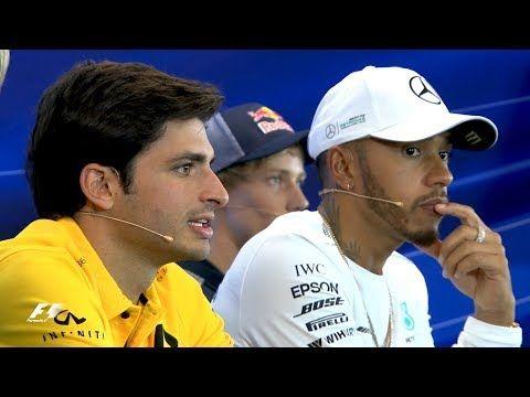USA GP 2017 - neljapäevane sõitjate pressikonverents, Formula1