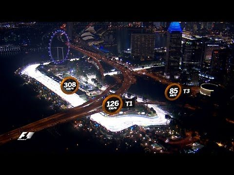 Singapuri GP 2016 - eelvaade, Formula 1, rada linnulennult