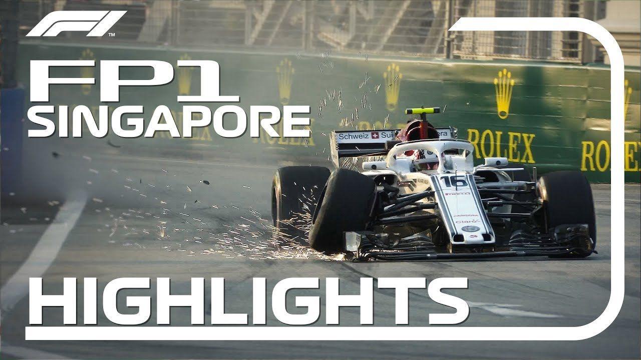 Singapuri GP 2018 - esimene vabatreening, ülevaade, F1