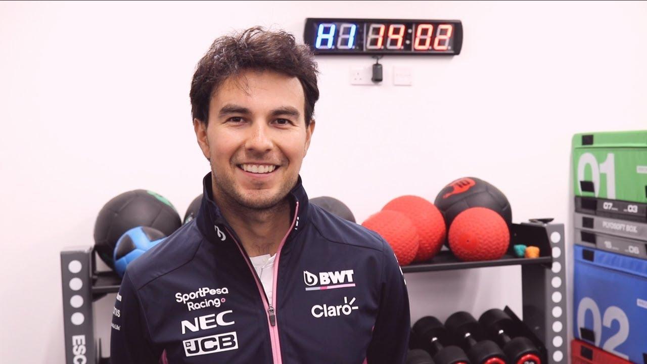 Sergio Pérezi eelvaade Prantsusmaa võistlusele