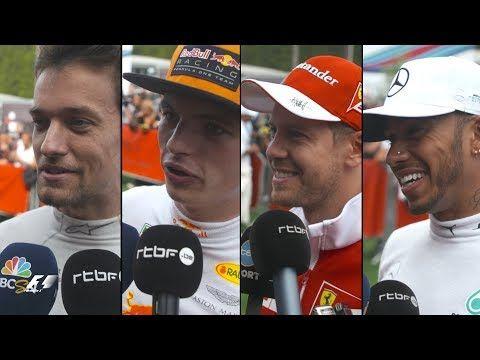 Belgia GP 2017 - kvalfikatsioon, sõitjate kommentaarid