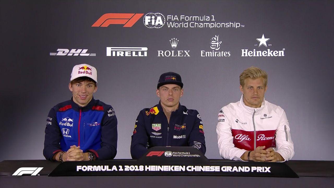 Hiina GP 2018 - neljapäevane sõitjate pressikonverents, F1