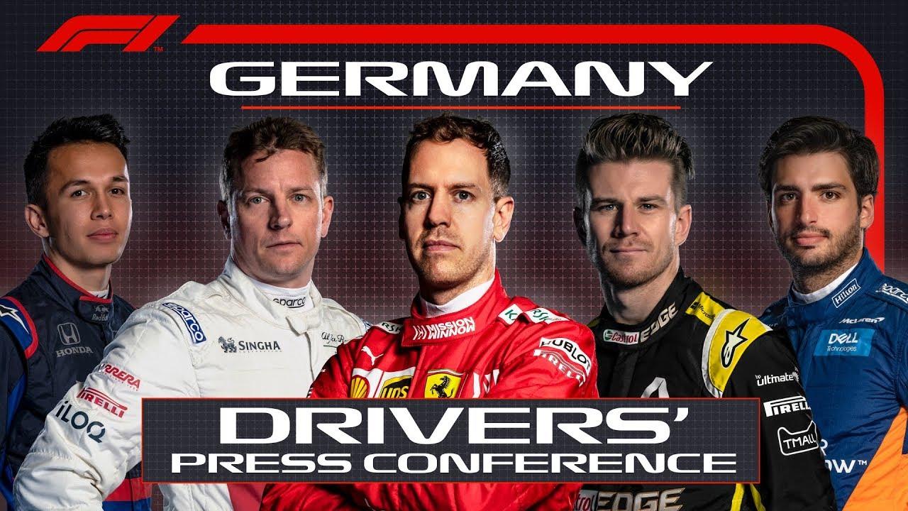 Saksamaa GP neljapäevane sõitjate pressikonverents
