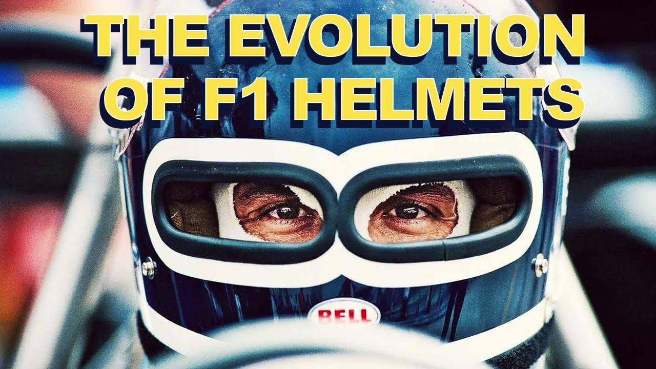 Kuidas on välja näinud läbi aja vormel-1 sõitjate kiivrid