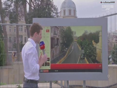 Aserbaidžaani GP 2018 - kvalifikatsioon, Gasly ja Hartley intsident