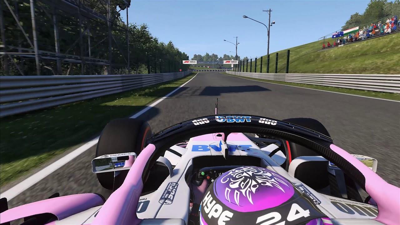 Jaapani GP 2018 - eelvaade, virtuaalring, Force India