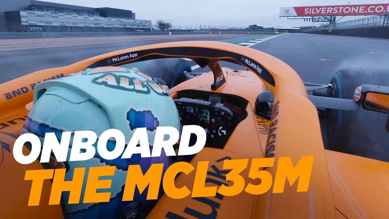 Ricciardo esimene ring McLarenil