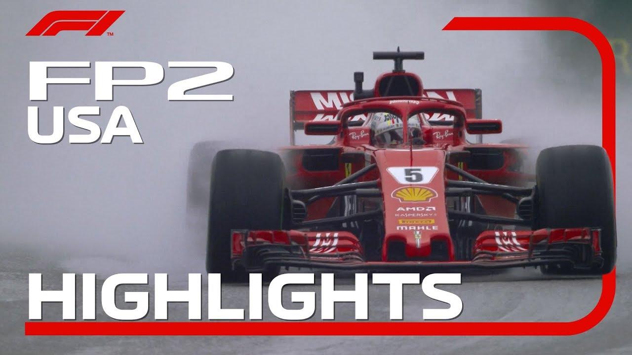 USA GP 2018 - teine vabatreening, ülevaade, F1