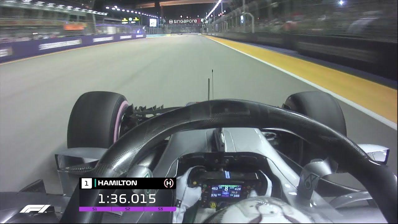 Singapuri GP 2018 - kvalifikatsioon, Hamiltoni võiduring, F1
