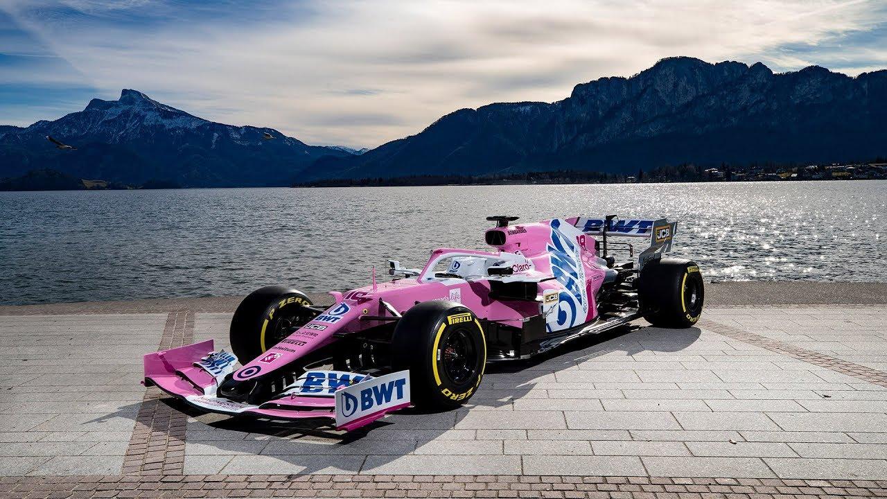 BWT Racing Point F1 meeskonna 2020. hooaja masina esmaesitlus