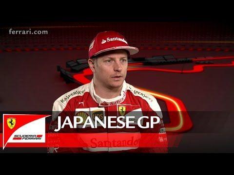 Jaapani GP 2016 - eelvaade, Ferrari, Kimi Räikkönen