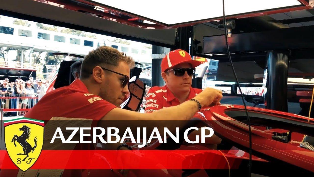 Aserbaidžaani GP 2018 - telgitagused 2, Ferrari