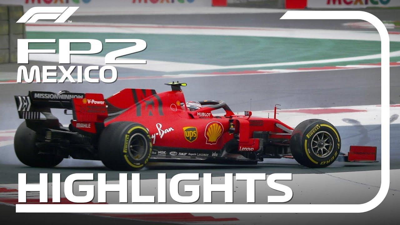 Mehhiko GP 2019 - teine vabatreening, ülevaade, F1