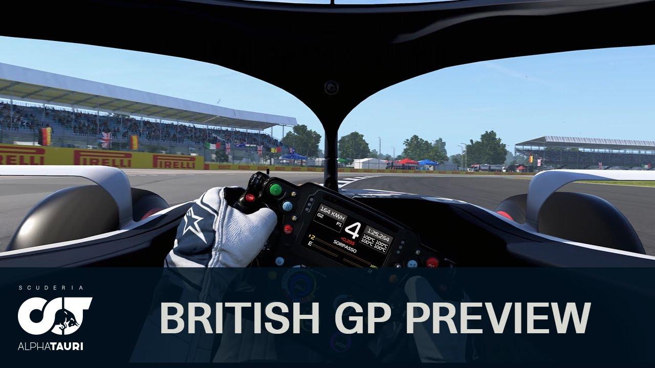Suurbritannia GP 2020 - eelvaade, Scuderia AlphaTauri