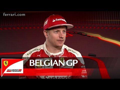 Belgia GP 2016 - eelvaade, Ferrari, Kimi Räikkönen