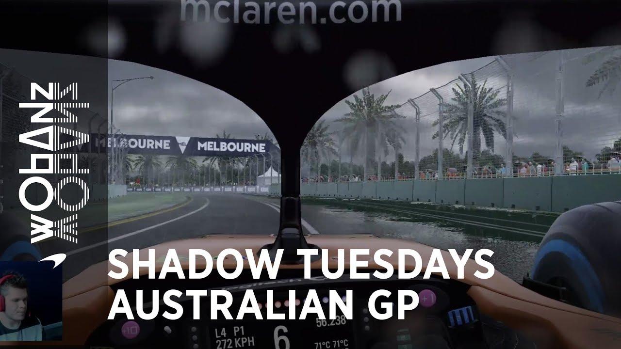 Austraalia GP 2019 - virtuaalring, McLaren