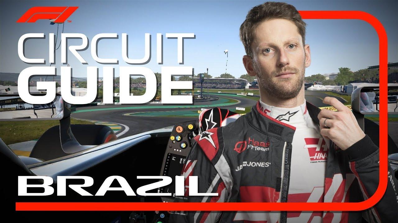 Brasiilia GP 2018 - eelvaade, virtuaalring, Grosjean, FIA