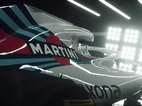 Hooaeg 2018 - Williams Martini Racing FW41 esitlus