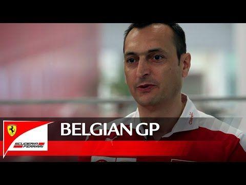 Belgia GP 2016 - eelvaade, Ferrari,  Riccardo Adami