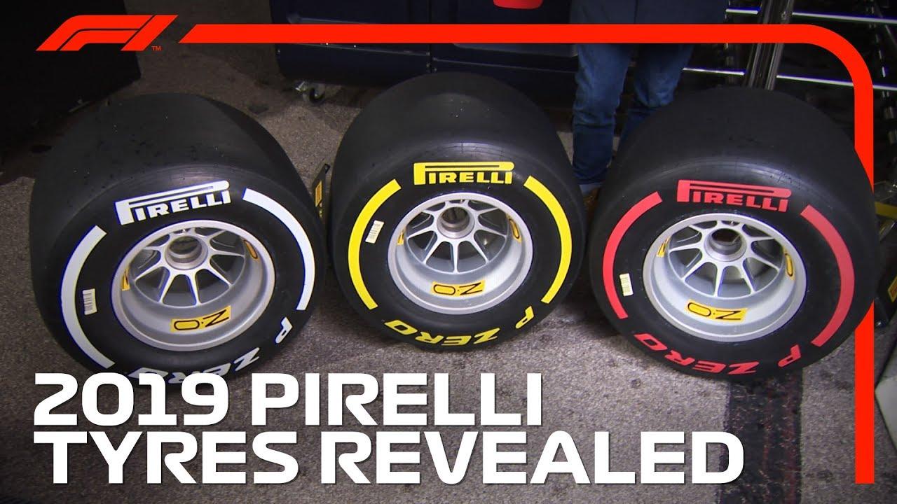 Hooaeg 2019 - Uued Pirelli rehvid