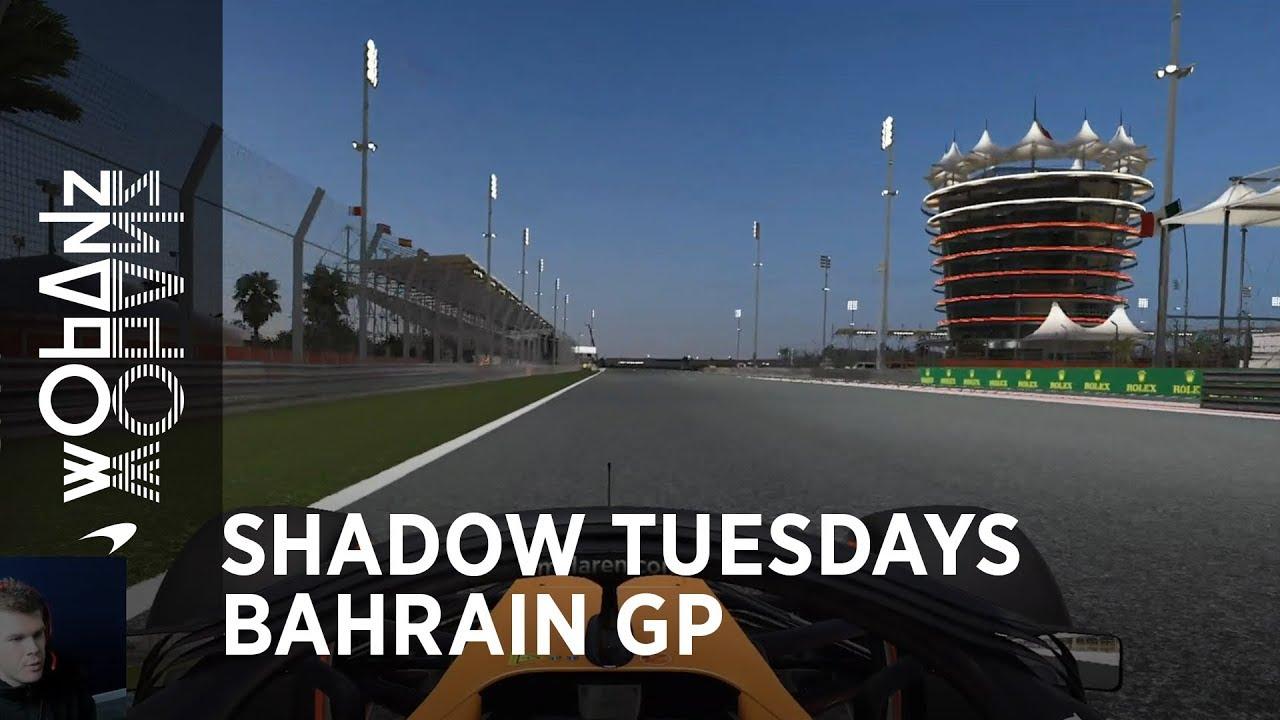 Bahreini GP 2019 - eelvaade, virtuaalring, McLaren
