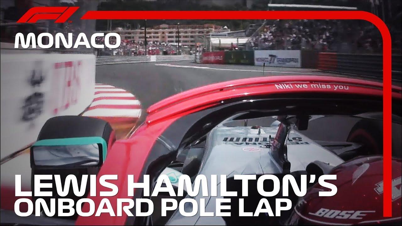 Monaco GP 2019 - kvalifikatsioon,Hamiltoni kvalifikatsioonisõidu võidu ring