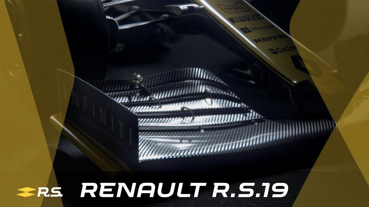 Hooaeg 2019 - Renault R.S.19 tutvustus