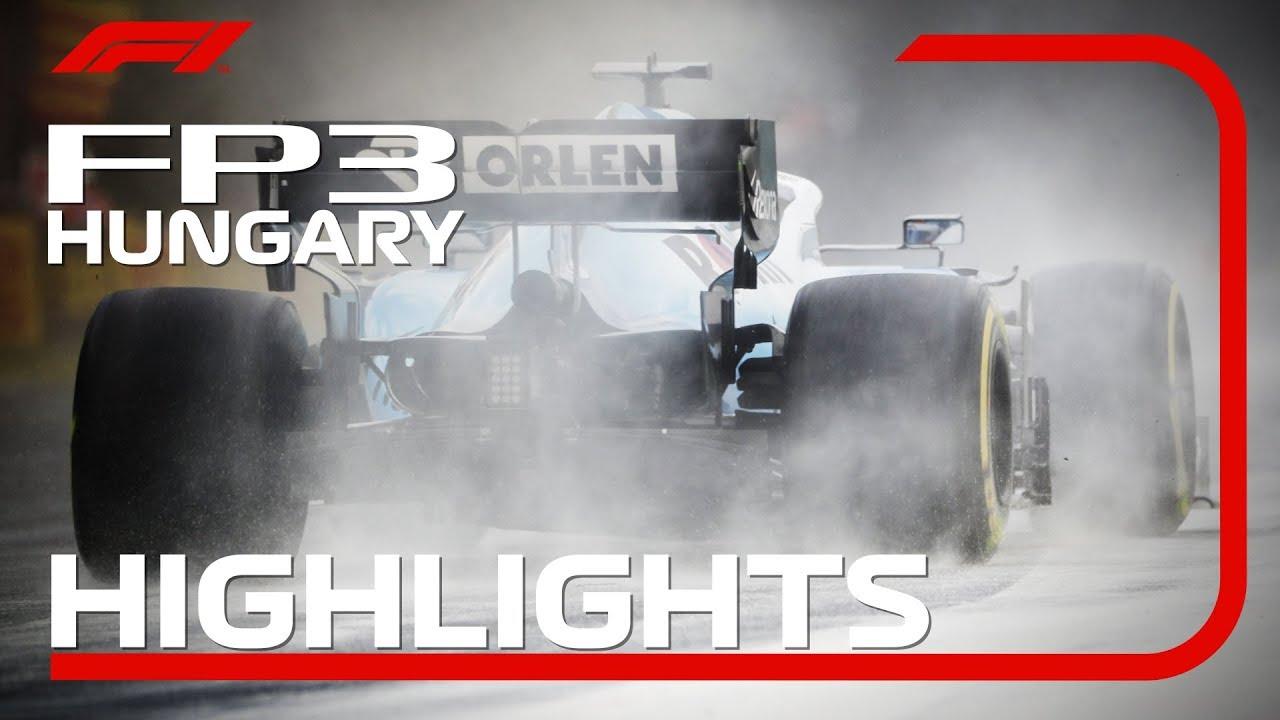 Ungari GP 2019 - kolmas vabatreening, ülevaade, F1