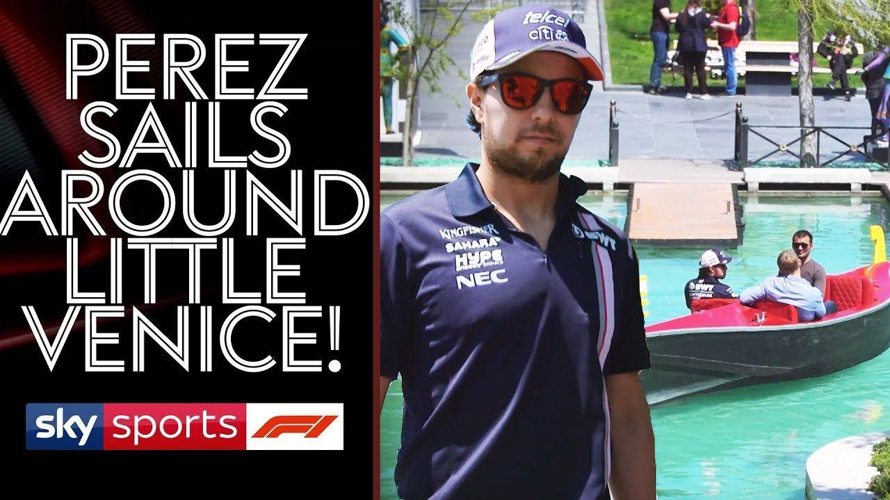 Aserbaidžaani GP 2018 - Sergio Perezi intervjuu, Sky Sports
