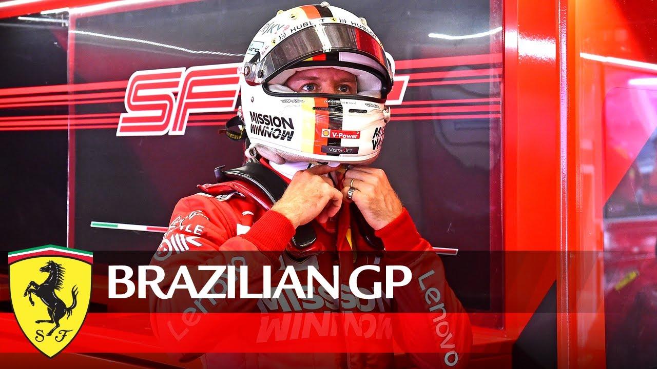 Brasiilia GP 2019 - eelvaade, Vettel ja Ferrari