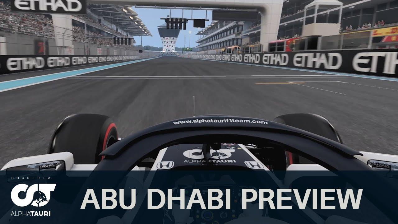 Scuderia AlphaTauri eelvaade Abu Dhabi GP-le