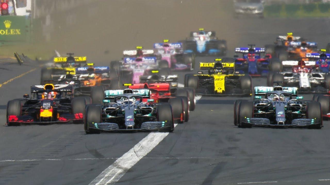 Austraalia GP 2019 - sõit, start, Formula1