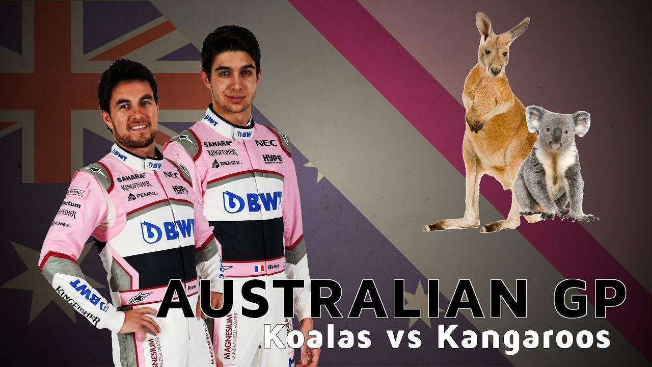Austraalia GP 2018 - eelvaade, Force India