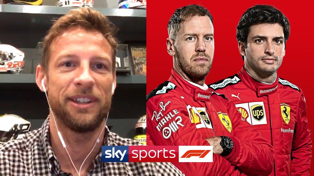 Miks oli Jenson Button šokeeritud kui kuulis, et Sainz asendab Vettelit Ferraris?