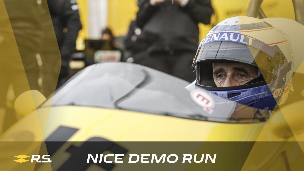 Hooaeg 2018 - demo Alain Prost ja Nico Hülkenberg