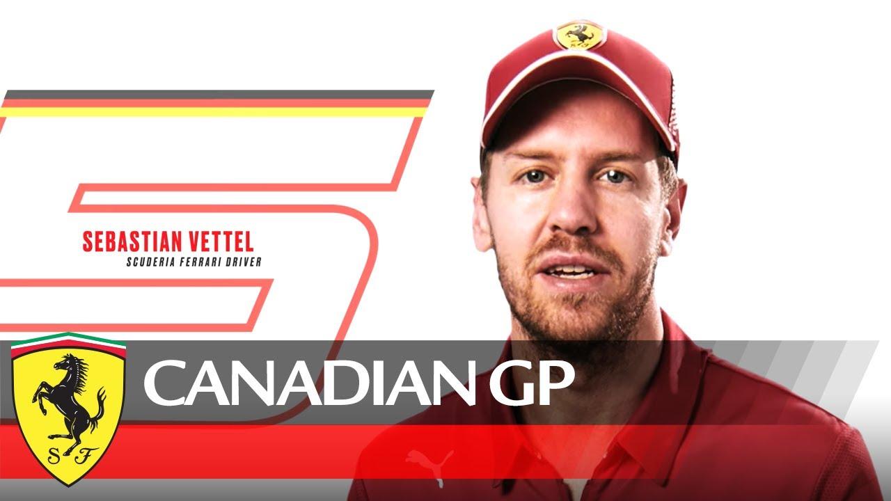 Kanada GP 2019 - eelvaade, Vettel ja Ferrari