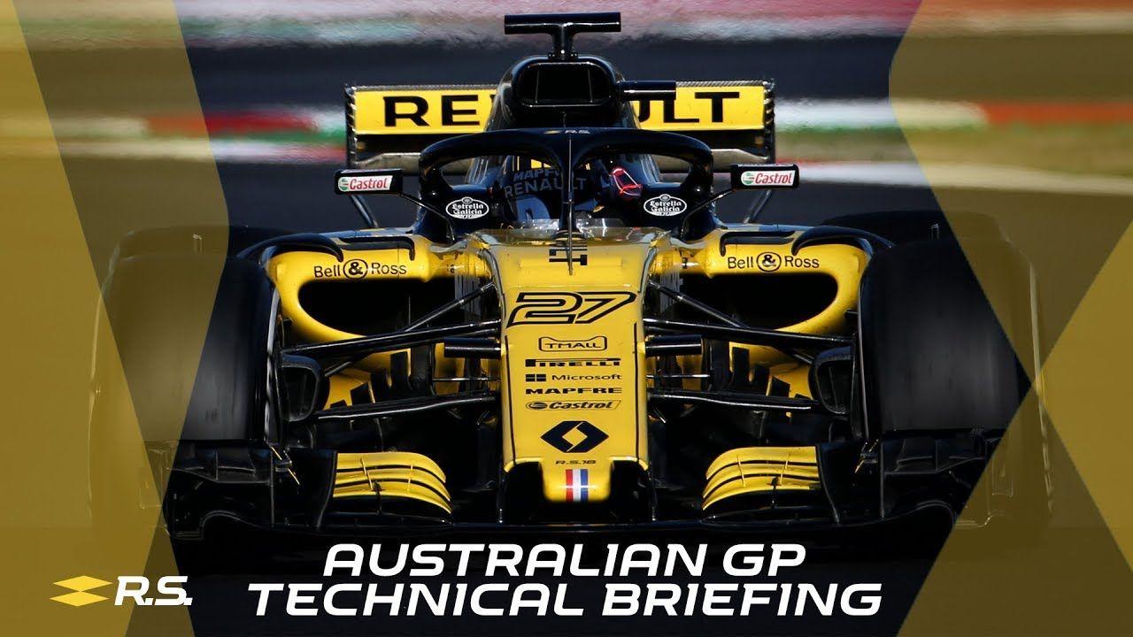 Austraalia GP 2018 - eelvaade, Renault