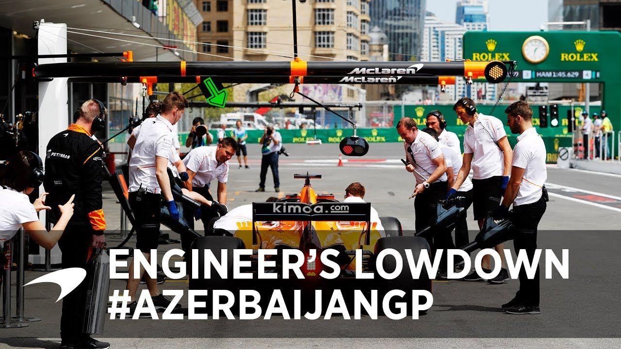 Aserbaidžaani GP 2018 - eelvaade, McLaren