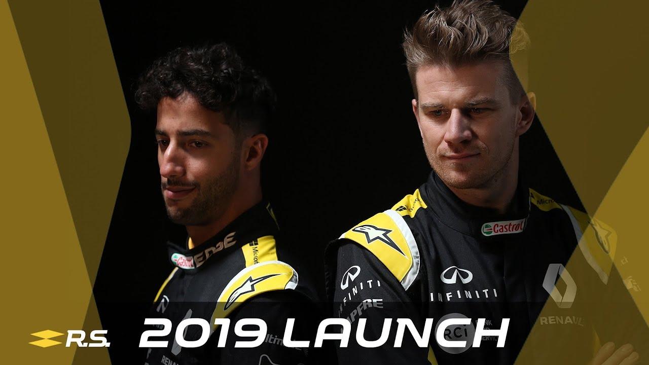 Hooaeg 2019 - Renault R.S.19 esmaesitlus