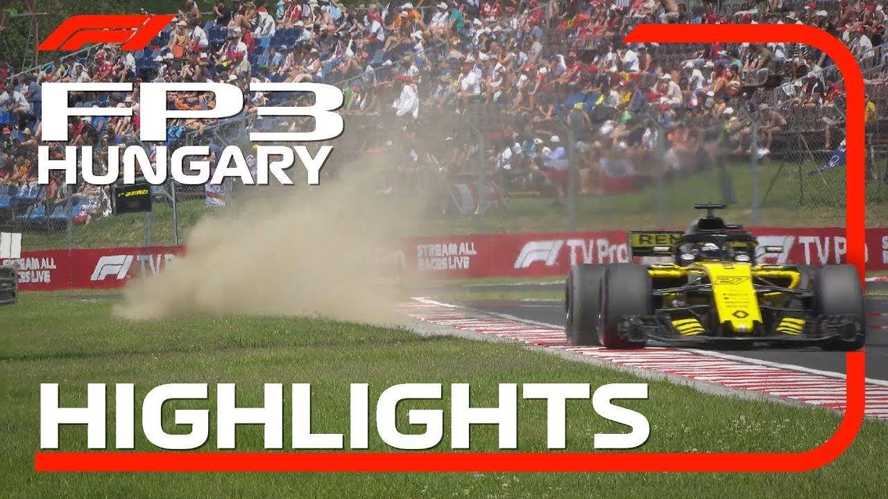 Ungari GP 2018 - kolmas vabatreening, ülevaade, F1