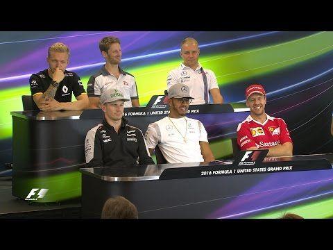 USA GP 2016 - eelvaade, sõitjate pressikonverents