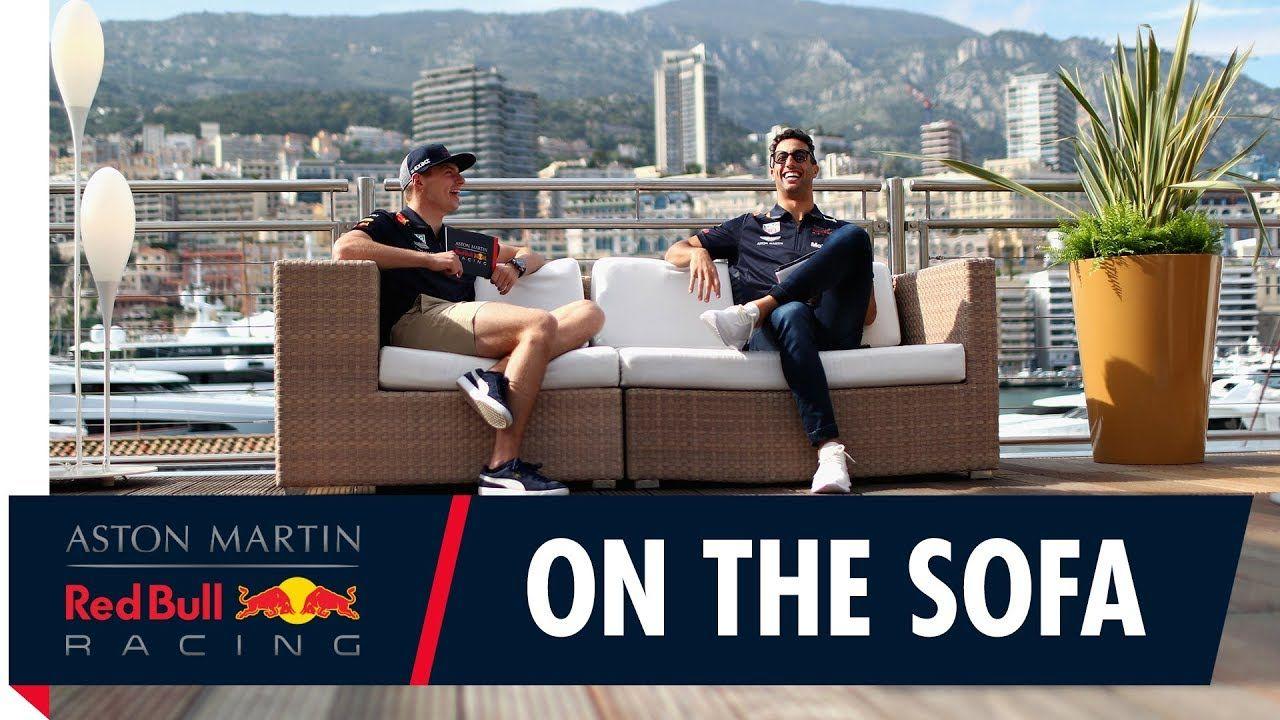 Monaco GP 2018 - eelvaade, Daniel ja Max, Red Bull