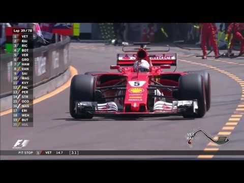 Monaco GP 2017 - sõit, kõrghetked